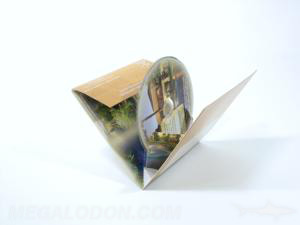 Pop up pak mailer cd packaging