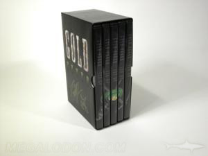 DVD cases slipcase set