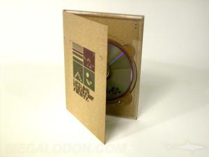 tall fiberboard digipack packaging