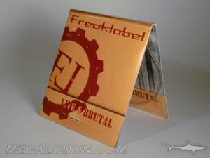 creative design cd packaging matchbook digipak