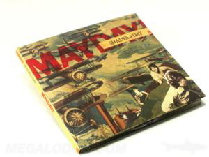 Photo of vintage cd album, WW2 look with uncoated stock