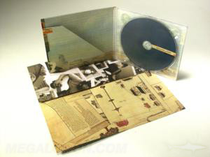 custom cd digipak with diagonal literature pocket uncoated stock