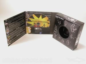Custom cd box toy