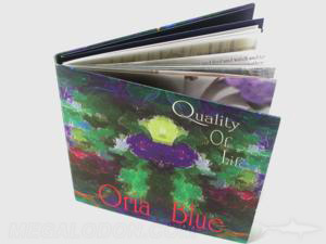 CD book binding packaging swinging sleeve