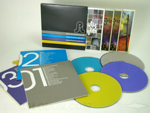 slipcase set packaging multidisc 4cd jackets