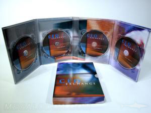 4 disc DVD traypack slipcase packaging set