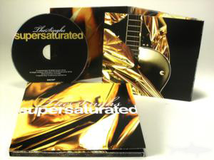 metallic gold ink printing on cd digipak packaging