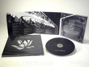 metallic ink pms on cd digipak packaging