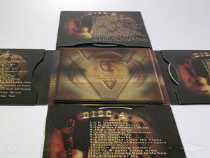 CD Cross jacket with booklet