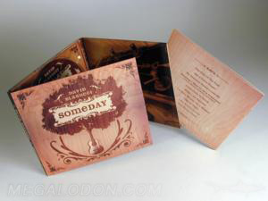 custom digipak embossing spot gloss matte lamination