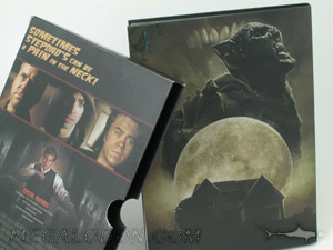 DVD Slipcase sets, movie packaging, double wall construction slipcase with thumbnotch