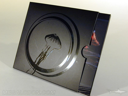 cd Slipcase packaging with spot gloss matte lamination