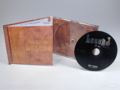 vintage cd book packaging
