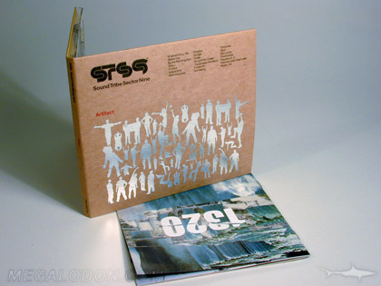 Foil stamping on fiberboard cd dvd packaging