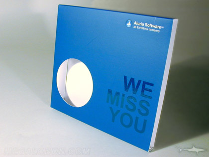 die cut hole in cd slipcase spot gloss