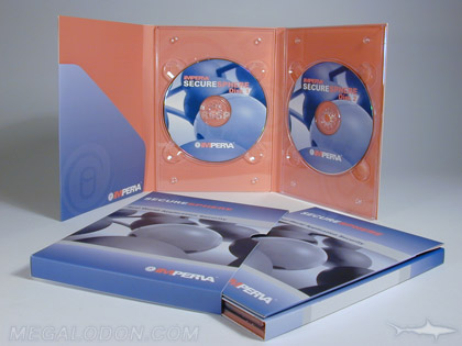 tall double dvd tray packaging diagonal pocket slipcase set