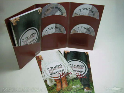 4disc set with workbooks cd dvd folder jacket
