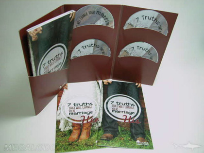multidisc jacket sets 10 inch tall 4 disc packaging