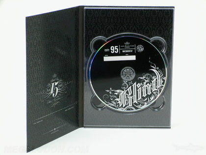 Digipak full color printing across inside 4C/4C