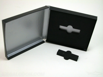 Multi disc box set with customizable usb foam insert packaging with foam insert
