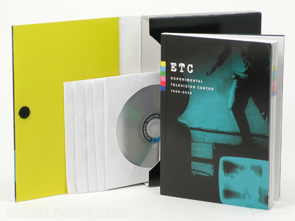 ExpTV_ETCBOX7 5dvd box set perfect bound book velcro