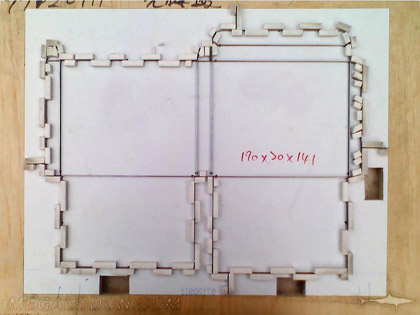 die cut fixture mold for custom cd dvd packaging