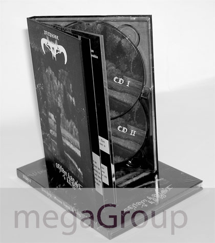 double disc dvd book 2 disc set packaging