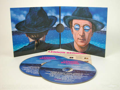 Double disc cd album two pocket