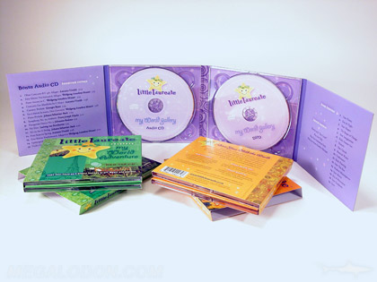 2cd set collection slipcase with 3 volumes 8pp digipak packaging with recycled paper soy inks
