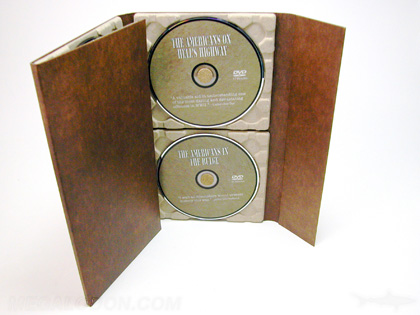 Paper tray dvd book cd book recycled paper