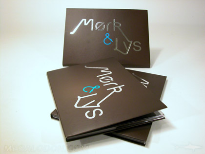 custom cd packaging with foil 7inch wide version
