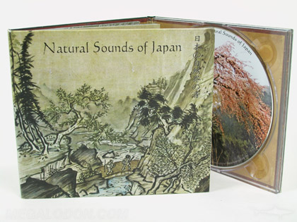 Matte cd packaging with uncoated paper stock