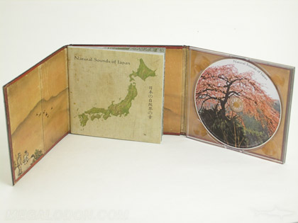 antique cd book packaging