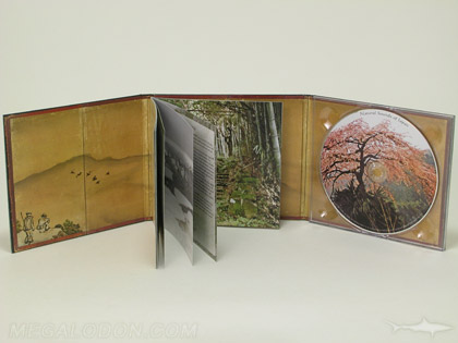 Hard CD cover 6 panel tray pack
