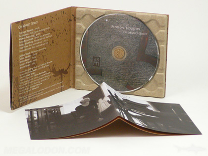 recycled paper digipak packaging