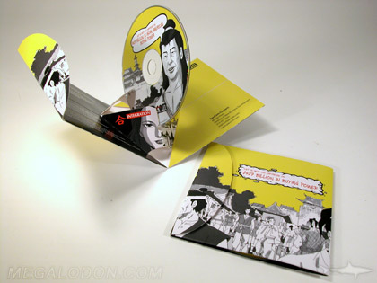 Unique cd covers, pop up packaging