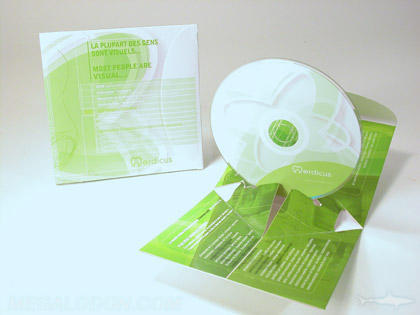 custom die disc pop up packaging