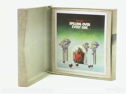 printed chipboard box cd packaging