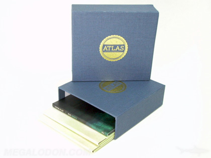Faric wrap cd box with foil stamp