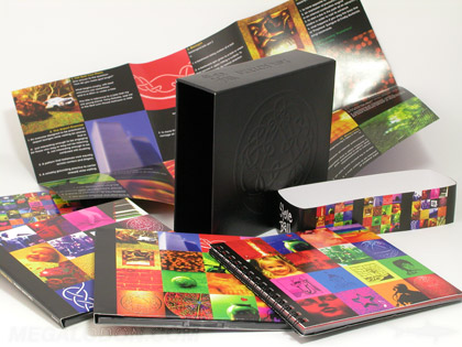 Leather Vinyl CD DVD Multidisc Box Set Packaging