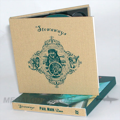 linen cd book packaging slipcase cover