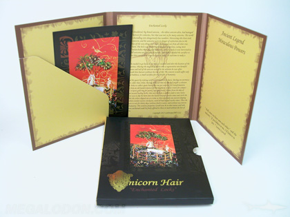 antique cd dvd packaging with spot gloss and foil