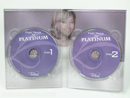 Tall 4pp digipak double dvd discs inside printing