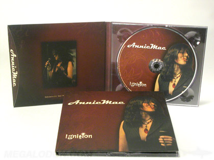 matte uncoated digipak with flap