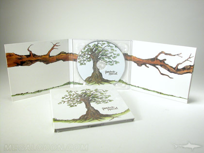 Digipak full color 4C inside spines 6pp digipak 1 cd