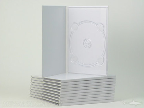 Unprinted Digipak DVD height packaging with tray