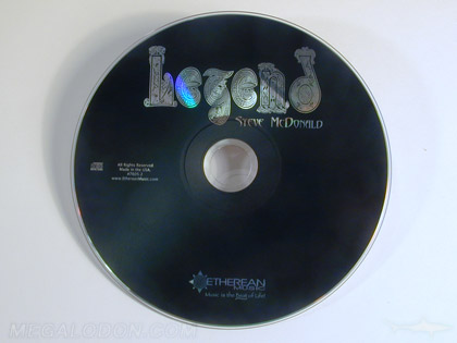 silver substrate in disc printing art design