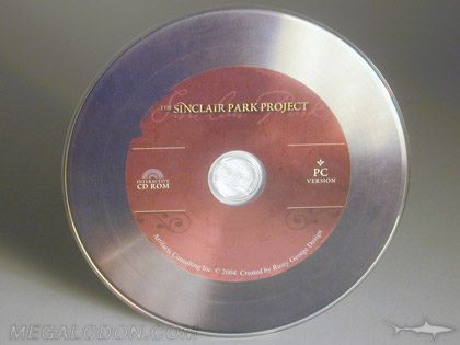 vinyl cd disc printing vintage look