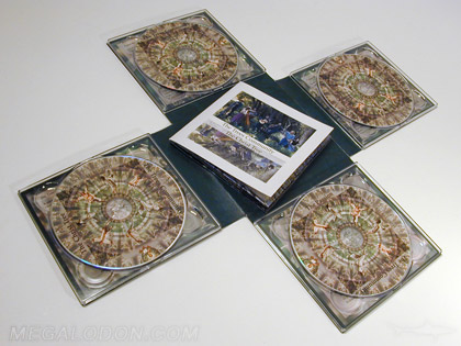 die cut cd pacakging cross shape digipak