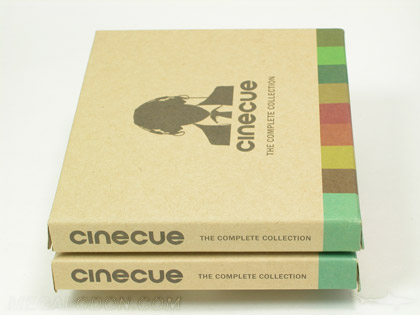 CD Multidisc  Box Set 5 discs chipboard core, vellum sleeves